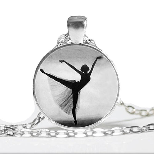 Artistic Ballerina Necklace