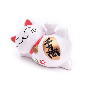 4 Inch Solar Powered Lucky Cat