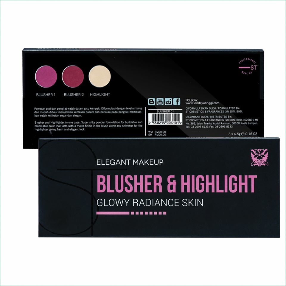 Blusher & Highlight Palette