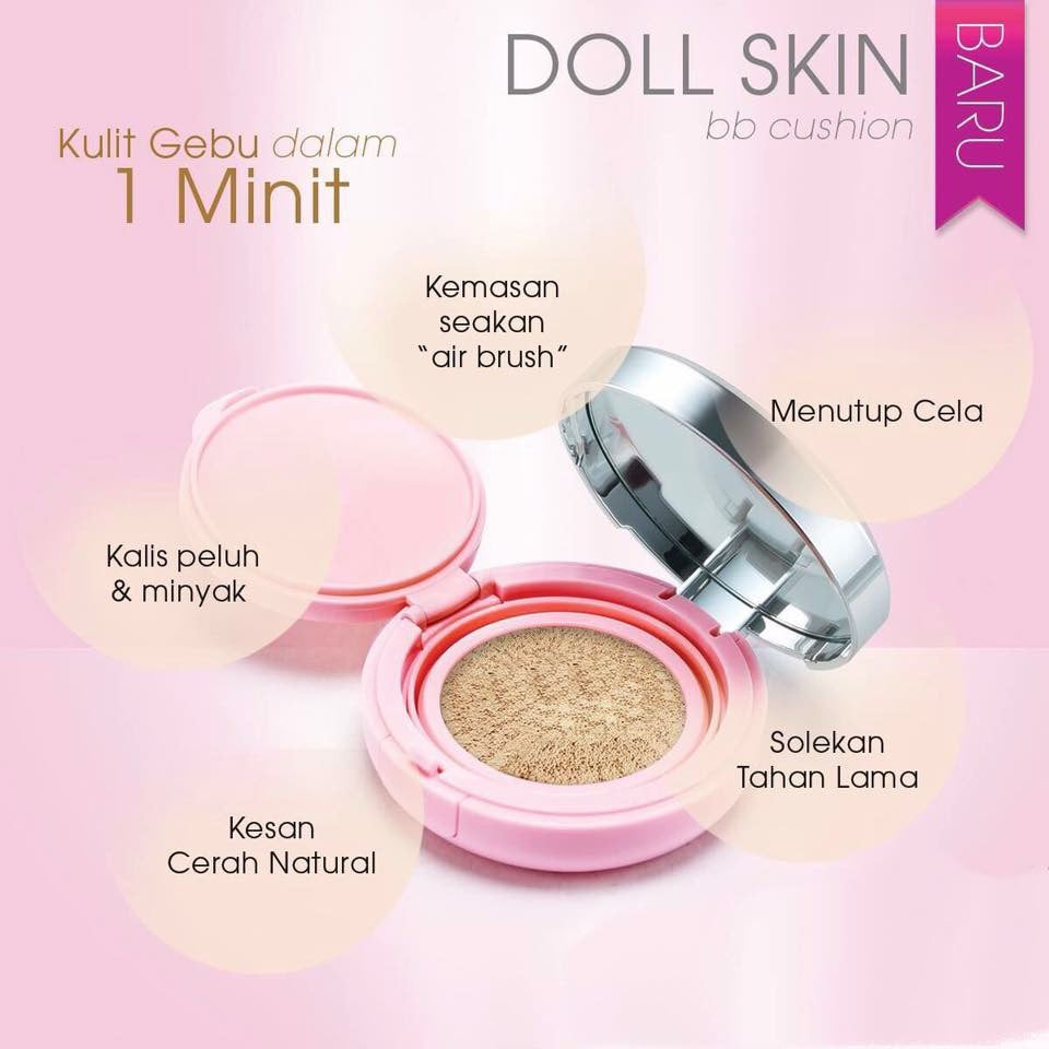 Doll Skin BB Cushion