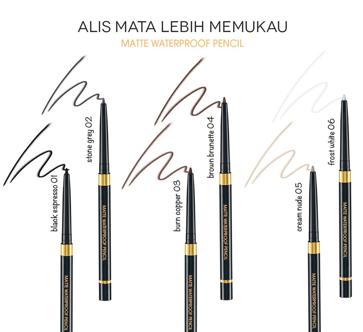 Matte Waterproof Pencil