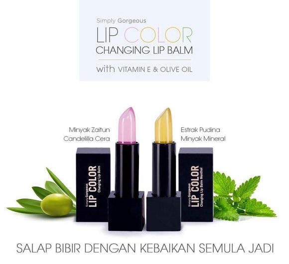 Lip Color Changing Lip Balm