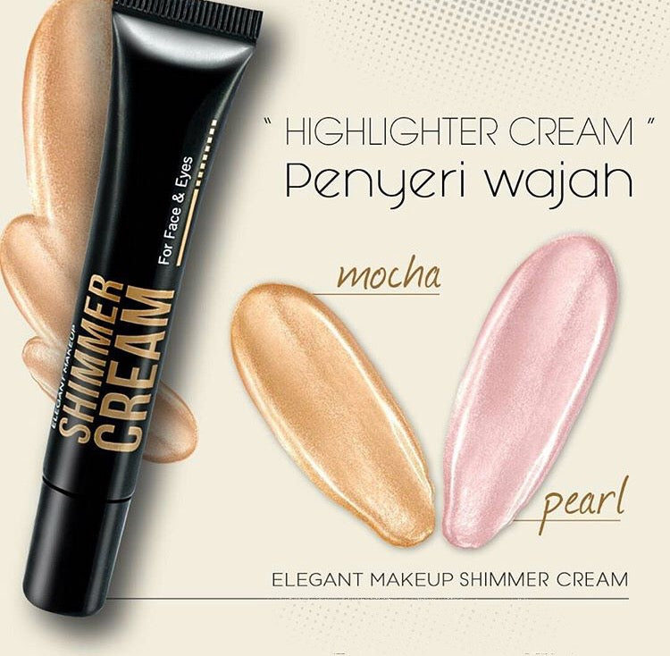 Shimmer Cream For Face & Eyes