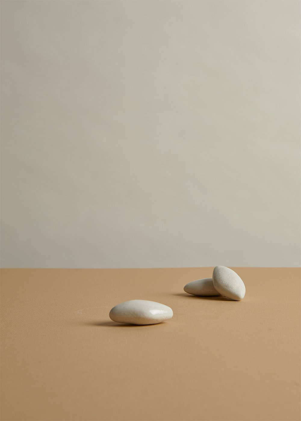 Porcelain fermentation weights by Emma Jimson