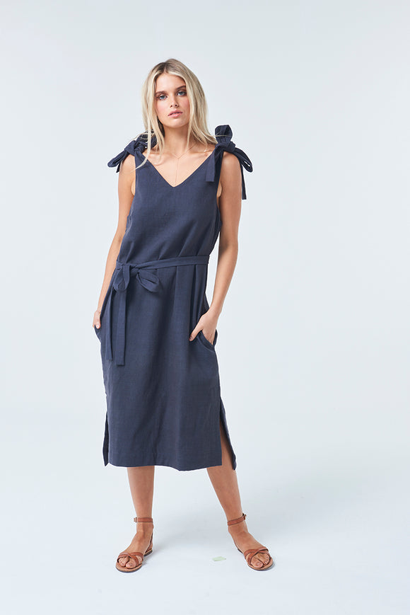 Seaside Dress Indigo