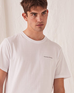 Mens Ansen Tee White