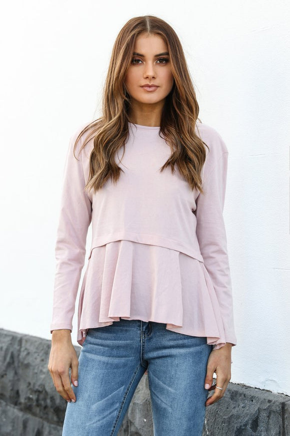 Betsy Top Pink