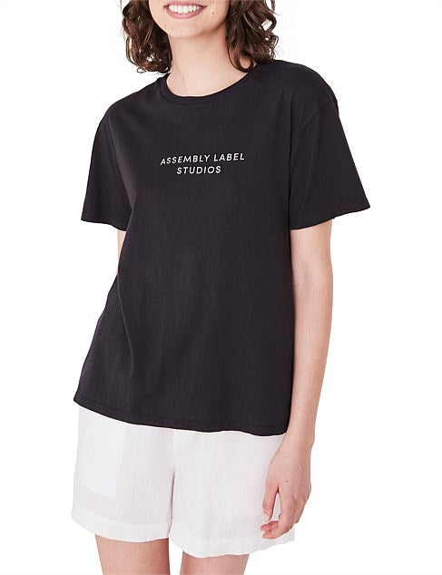 Womens Haus Tee Black