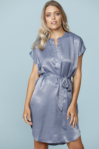 Beachcomber Dress Denim Blue