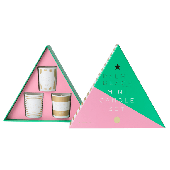 Palm Beach Mini Christmas Trio Candle Pack