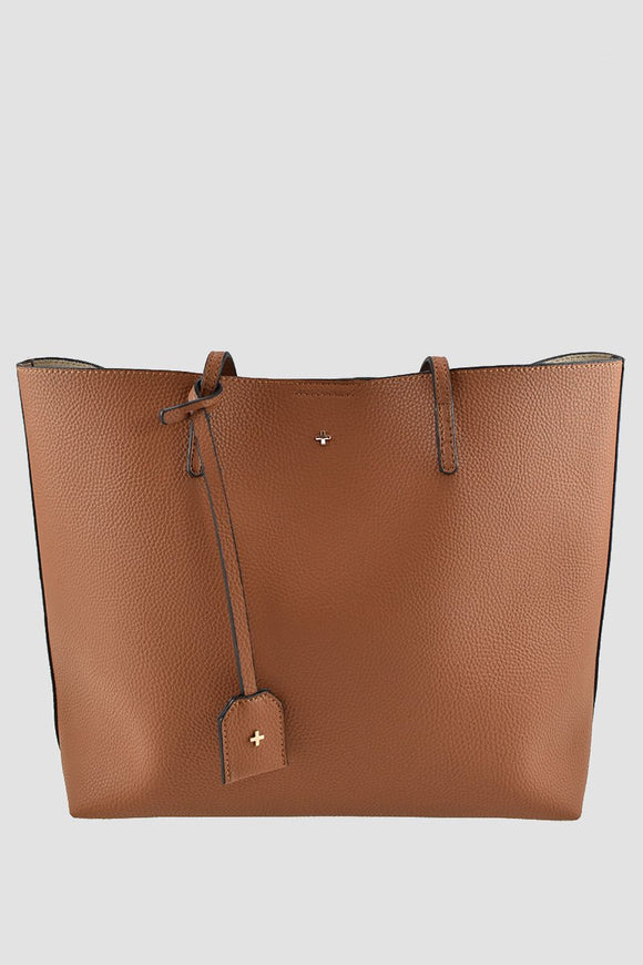 Saint Tote Bag Tan Pebble