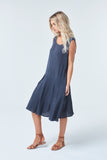 Bellarine Indigo Dress