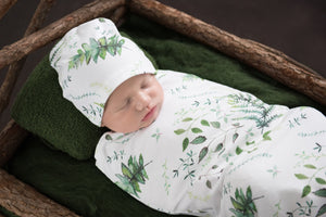 Snuggle Swaddle & Beanie Set Enchanted