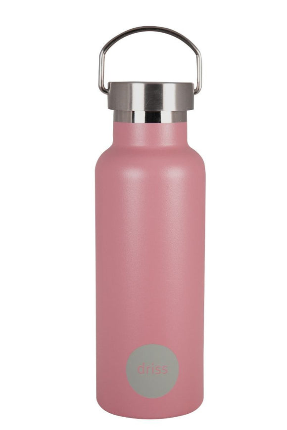 Stainless Steel Insulated Water Bottle Malmo Rosette