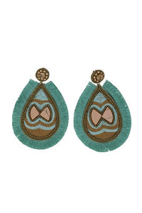 Pisces Earrings Mint