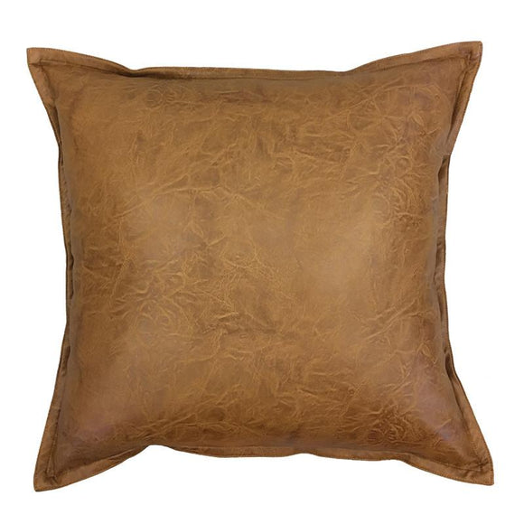 Boston Tan Cushion Leather Look