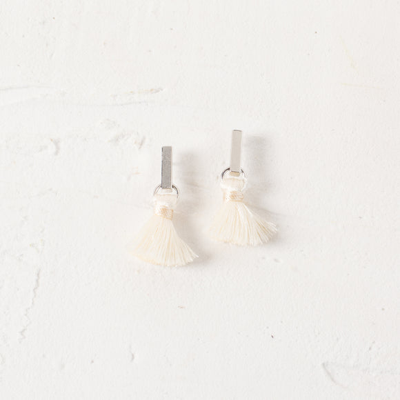 Mini Rod Tassel Drop Earrings