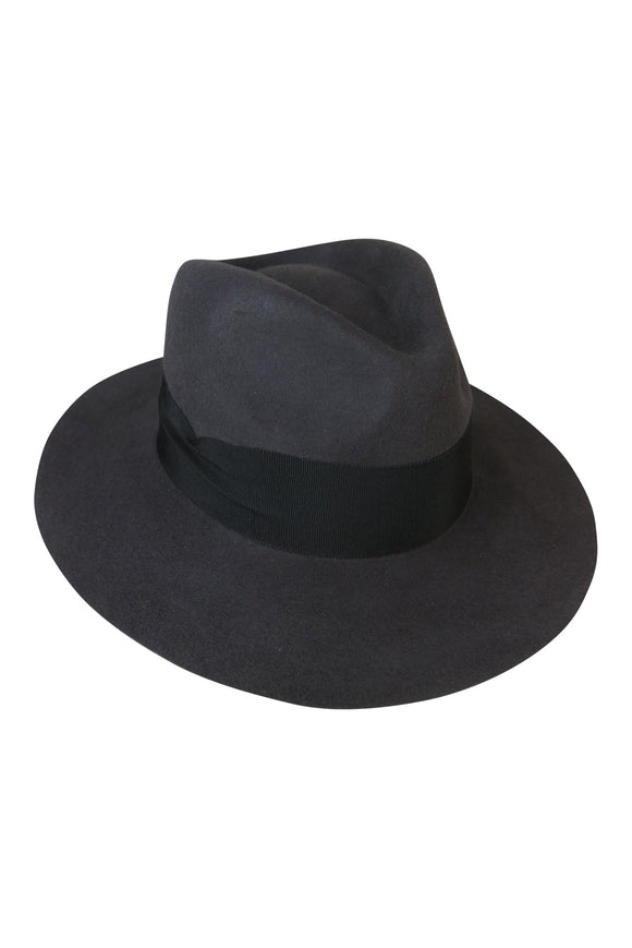 Steel Felt Fedora with Pete Band