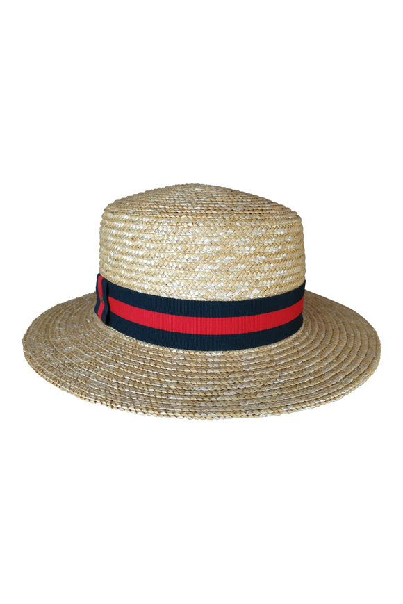 Nancy Straw Boater