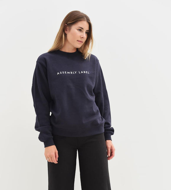 Logo Fleece Women's Deep Ink