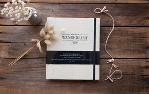 Swept Away by Wanderlust Travel Journal