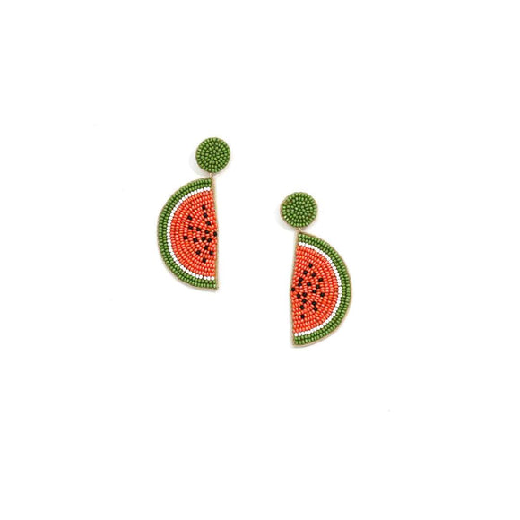 Watermelon Earrings Multi