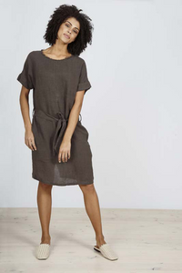 Coasting Dress Graphite
