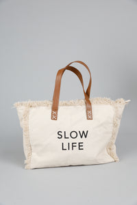 Slow Life Bag Natural
