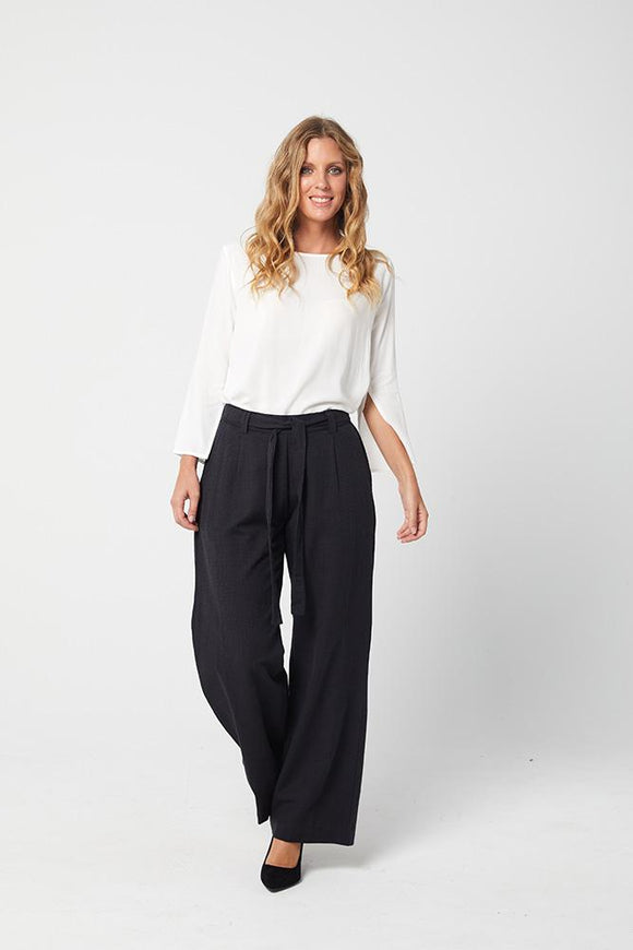 Chanel Trousers Dark Navy