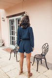 Jordan Playsuit Navy