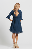 Dusty Dress Navy