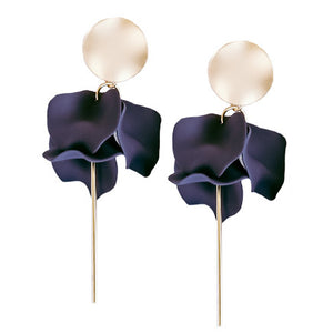 Esta Hanging Flowers Navy