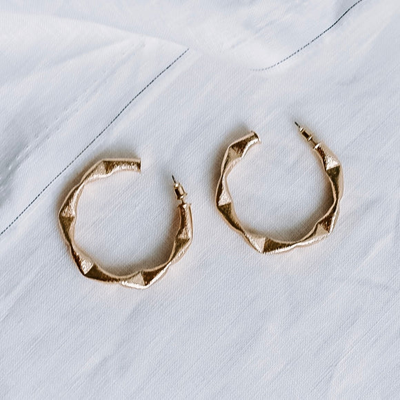 Kendall Earrings Gold