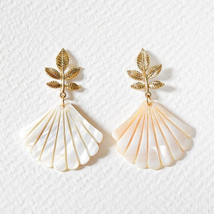 Layla Shell Earrings