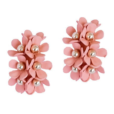 Lola Earrings Peach