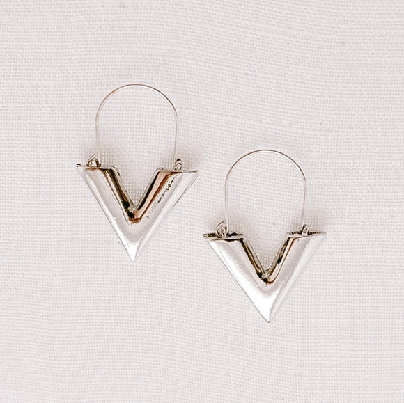 Viv Earrings Silver