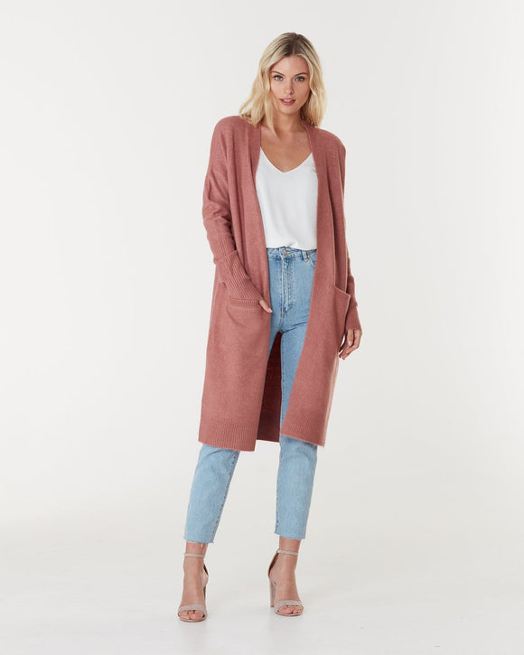 Toronto Long Cardigan Spice