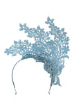 Kayla Fascinator Blue