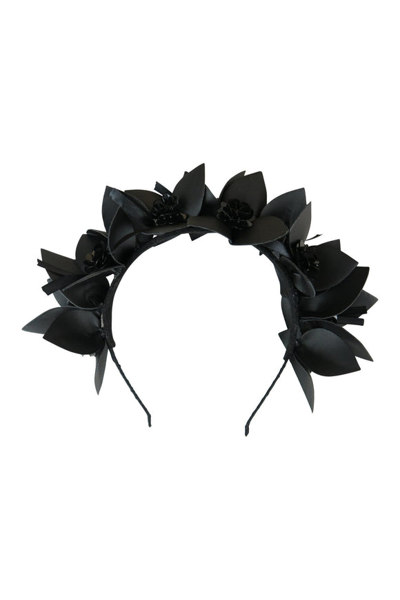 Haven Fascinator Black