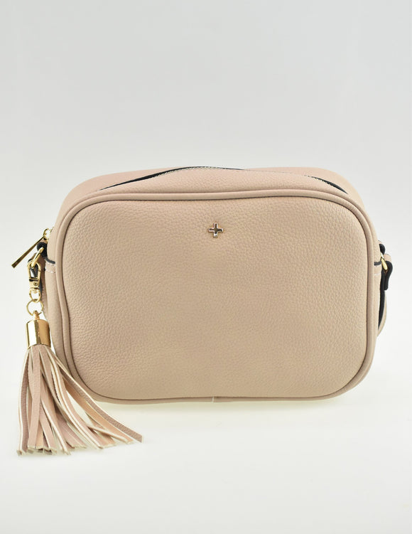 Gracie Crossbody Bag Nude Pebble