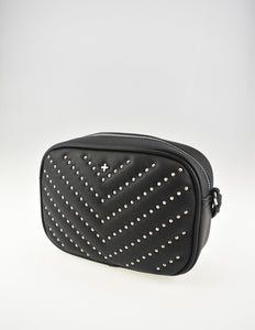 Gracie Crossbody Bag Black Stud
