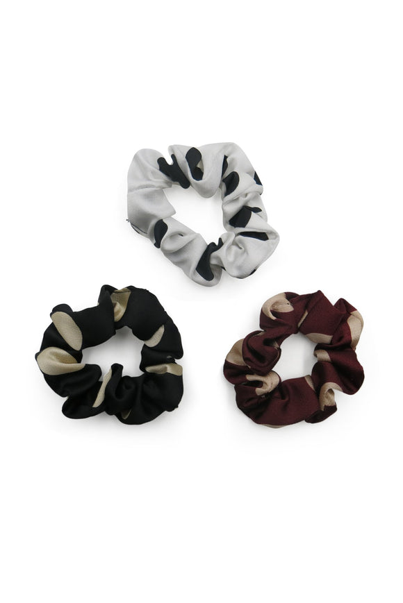 Spots Scrunchie 3 Pack