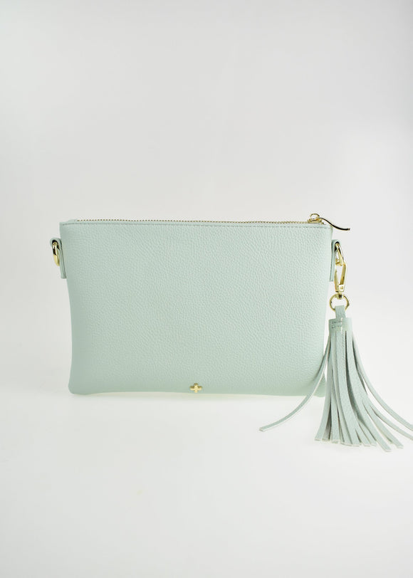 Kourtney Crossbody Bag Mint Pebble