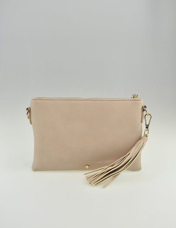 Kourtney Crossbody Bag Nude Pebble