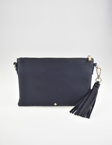 Kourtney Crossbody Bag Navy Pebble