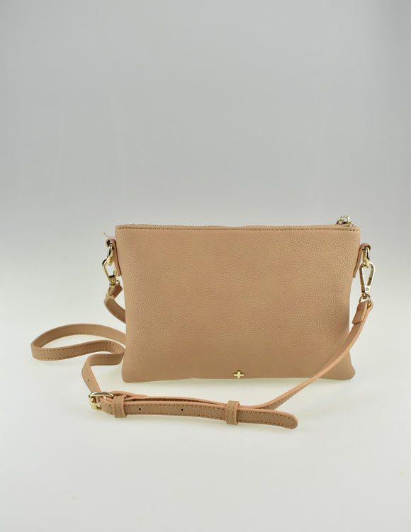 Kourtney Crossbody Bag Sand Pebble