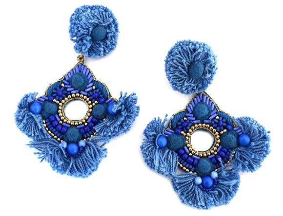 Alexis Earrings Blue