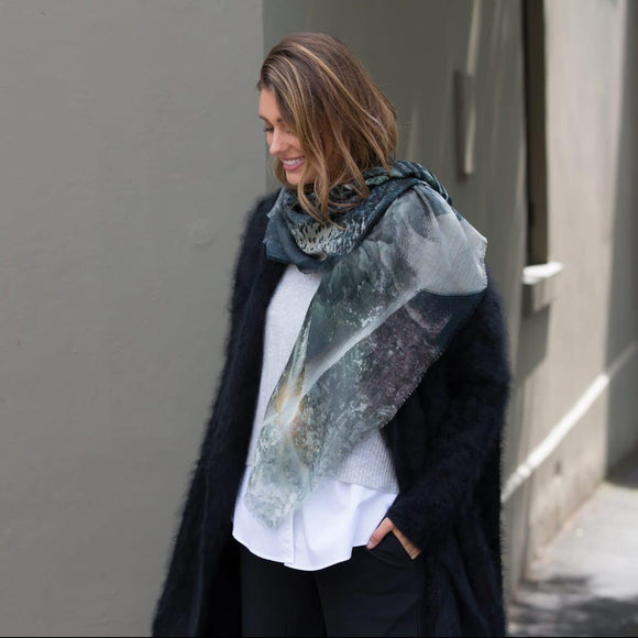 Road Less Travelled Merino Wool Scarf