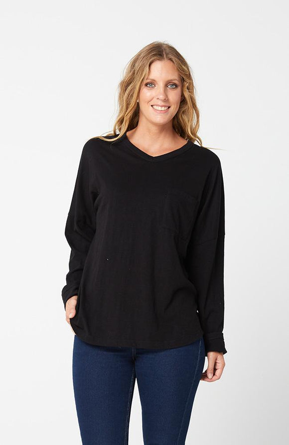 Kenzie Top Black