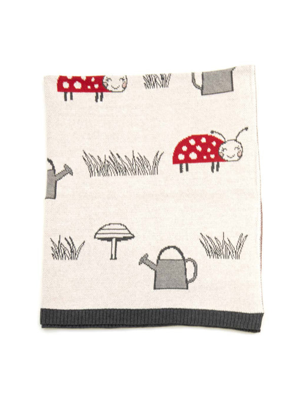 Lily Ladybird Baby Blanket
